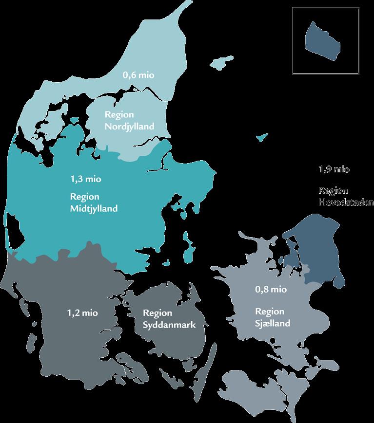 kort over danske kommuner